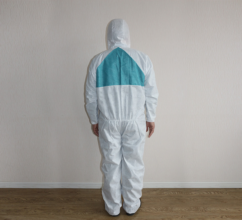 Chemical factory Coverall  Type 5/6 EN1149-1