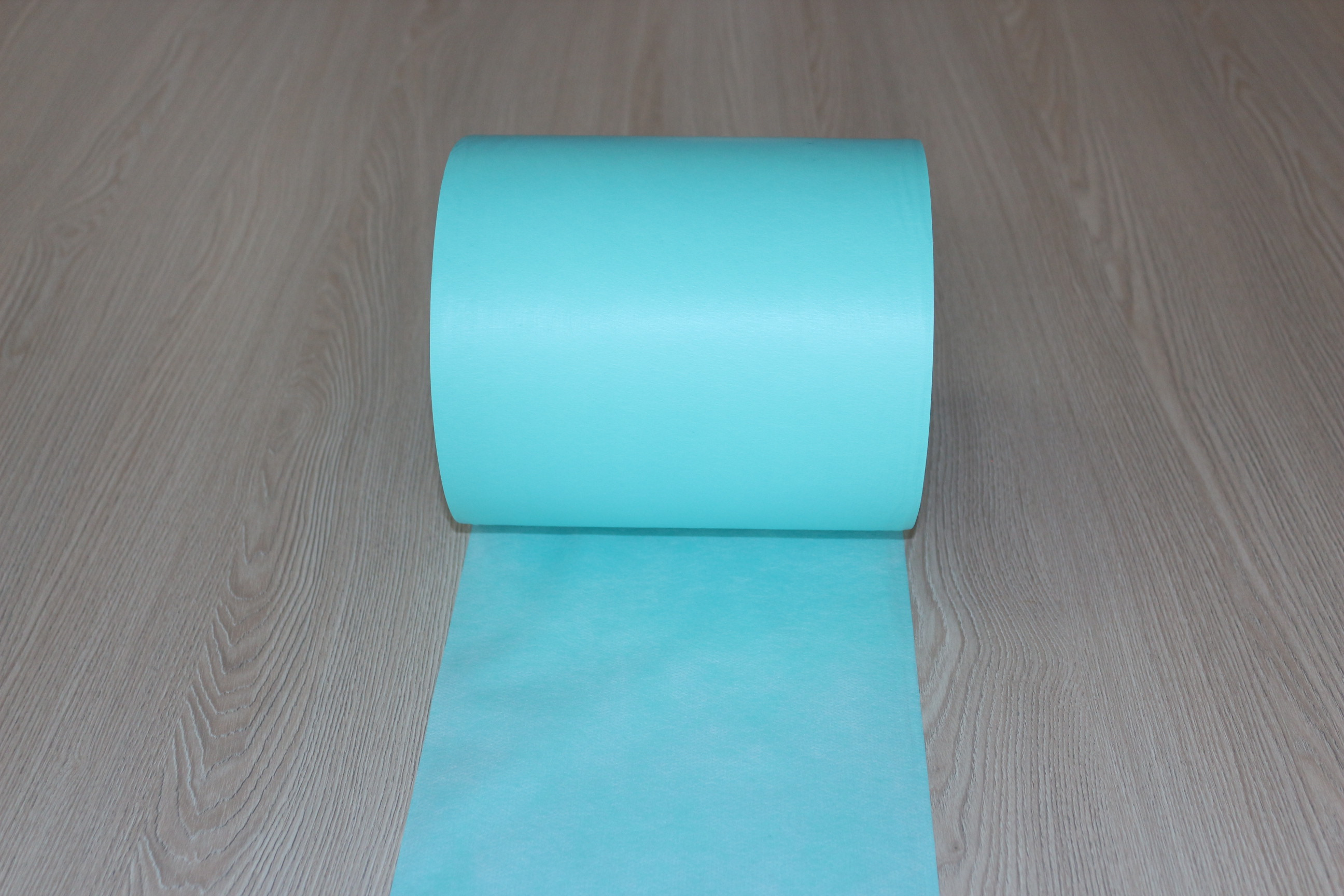 Breathable PE Film in Green
