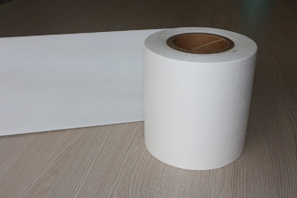 Breathable PE Film in White